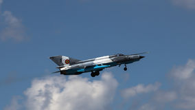 Lanceiro MIG-21 Fotografia de Stock Royalty Free