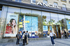 Lancel fashion store Stock Photos