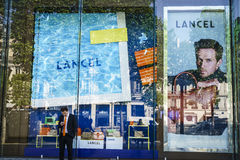 Lancel fashion store Stock Photography