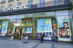 Lancel fashion store Royalty Free Stock Photo
