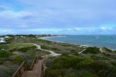 Lancelin Beach stockbild