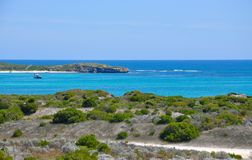 Lancelin Coast Line Royalty Free Stock Photo