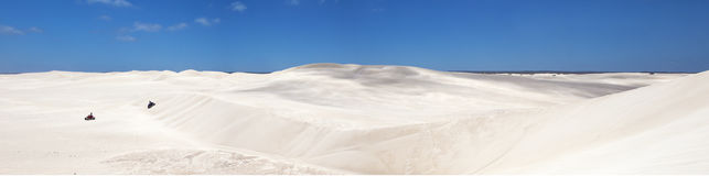 Lancelin dunes Royalty Free Stock Images