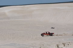 Lancelin Dunes: Deportes de la duna en Australia occidental Fotos de archivo