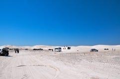Lancelin Dunes: Tourists Attraction stock image