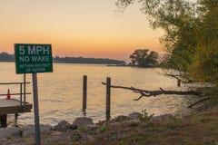 Lancement de bateau de Niagara de fort Photo libre de droits
