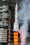 Lancement de fusée chinois de l'espace de cz-2f Photo stock