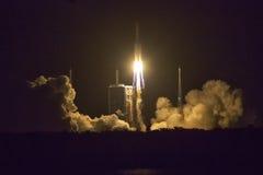 Lancement de fusée de l'espace image stock