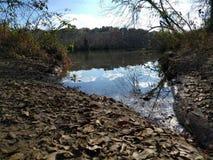Lancement de la rivière Chattahoochee image libre de droits