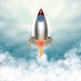 Lancement de navette spatiale image libre de droits