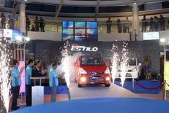 Lancement de Suzuki neuf Karimun Estilo images stock