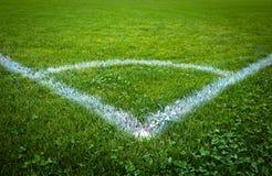 Lancement du football/football Images libres de droits