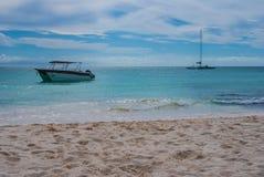 Lancements dans les Caraïbe Photo libre de droits