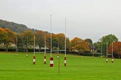 Lancements de rugby Photos libres de droits