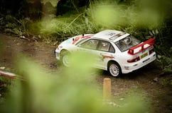 Lancer EVO Мицубиси автомобиля ралли Rc Стоковая Фотография