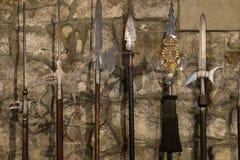 Lances chevaleresques antiques Photographie stock libre de droits