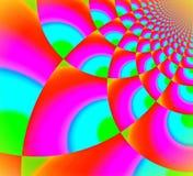 Lances colorées du ciel illustration de vecteur