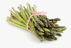 Lances fraîches empaquetées d'asperge Image stock