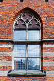 Lancet Window. Of Dutch Church in the Gothic Style Stock Photos