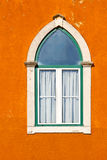 Lancet Window. Of the Old Portugal House stock photo