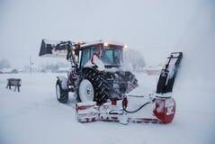 Lanceur de neige Images stock