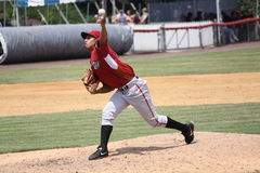 Lanceur Jhonathan Ramos de courbe d'Altoona Image libre de droits
