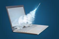 Lancez le projet sur mon ordinateur portable photos libres de droits