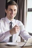 Lanch d'affaires Photo libre de droits