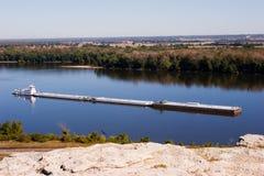 Lancha a remolque 2 de Mississippi Foto de archivo libre de regalías