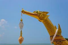 Lancha a remolque real Suphannahong Imagen de archivo libre de regalías