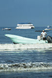Catamarã de Tortuga imagem de stock royalty free
