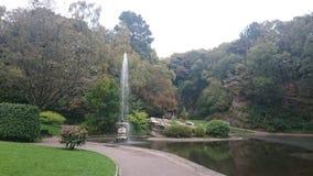 Lanchester公园喷泉 免版税库存图片