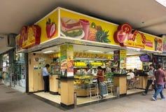 Lanchonete (Snack bar) in Copacabana, Rio de Janeiro Royalty Free Stock Photo