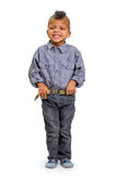 Lanci il bambino Fotografia Stock