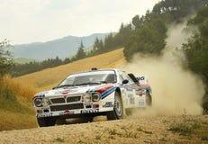 Lancia 037 rassemblent le véhicule Photos stock