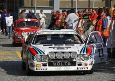Lancia 037 στοκ φωτογραφία