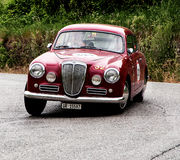 LANCIA  Aurelia B20 GT 2500 berlinetta Pinin Farina  1954 Royalty Free Stock Photo
