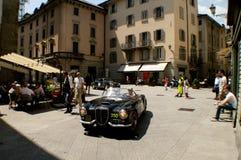 Lancia Aurelia B24 S bei Mille Miglia 2016 Lizenzfreies Stockfoto