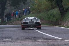 Lancia 037 bieżnego samochodu stary wiec Zdjęcie Stock
