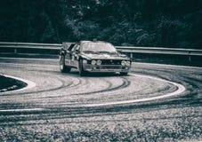 Lancia 037 bieżnego samochodu stary wiec Zdjęcia Stock