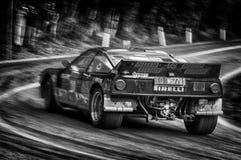 Lancia 037 bieżnego samochodu stary wiec Fotografia Royalty Free