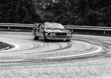 Lancia 037 bieżnego samochodu stary wiec Obraz Royalty Free