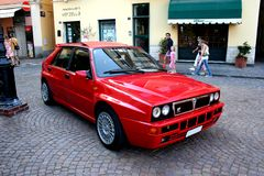 Lancia-Delta Stockfotografie