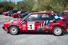 Lancia Delta HF Integral Martini Racing Royalty Free Stock Photography