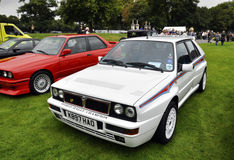 A Lancia Delta HF Integrale Evoluzione II Stock Photos