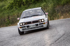Lancia delta hf mille miglia 2015 Royalty Free Stock Photography