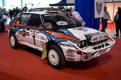 Lancia-Delta Integrale Mailand Autoclassica 2014 Lizenzfreie Stockfotografie