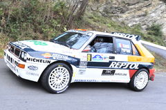 Lancia Delta Rally Stock Photography