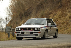 Lancia DeltaHF Integrale Stock Fotografie