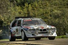 Lancia DeltaS4 Martini Royalty-vrije Stock Afbeelding
